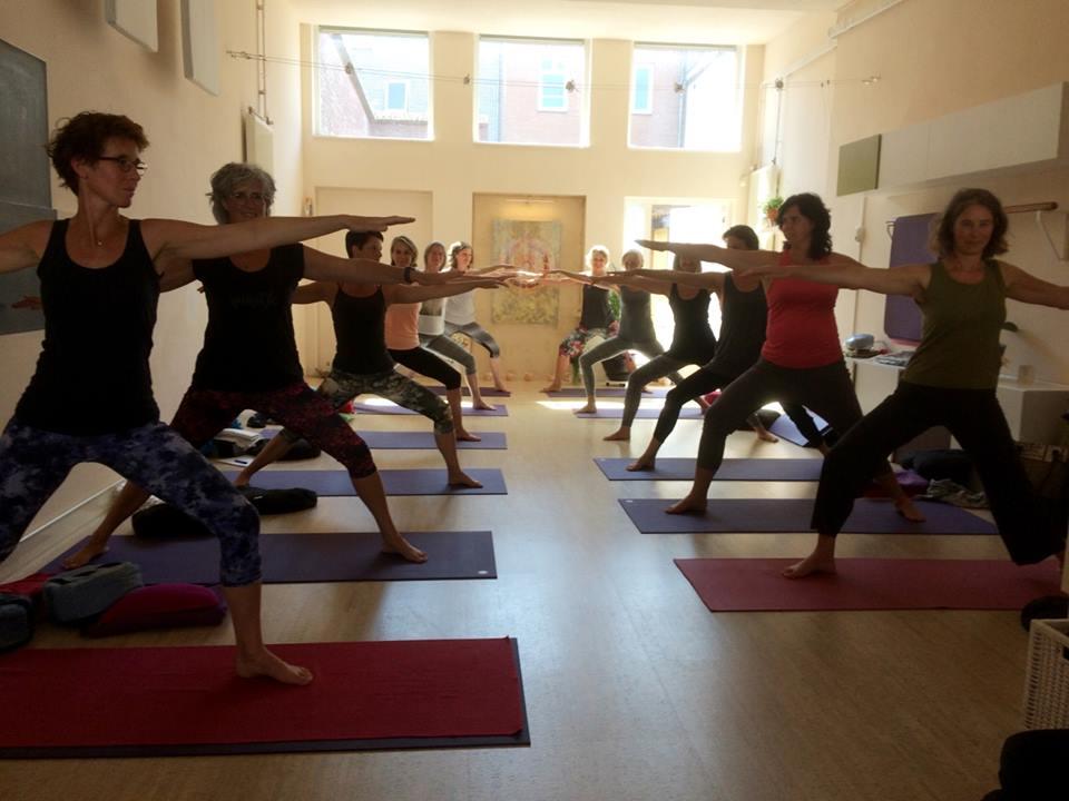 Yoga-opleiding, 2018, examen