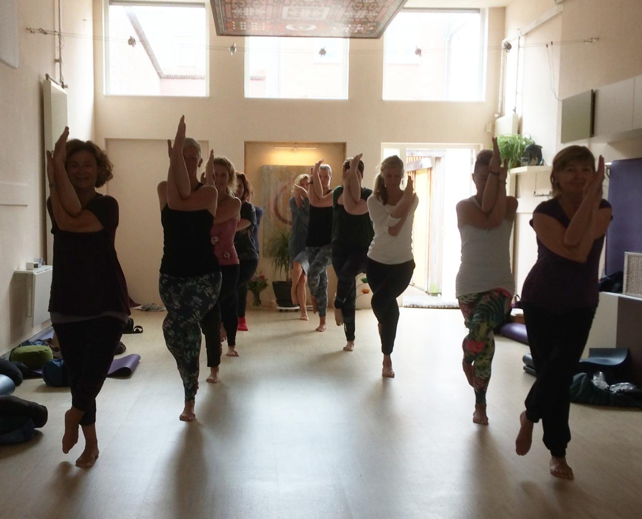 Yoga-opleiding 2020 examen
